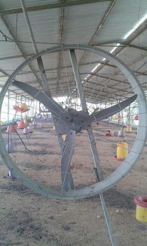 Ventilador O Extractor Industrial O Avicola De Medio Caballo