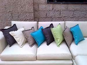 Cojines Decorativos Modernos Yessy Tela Bipiel