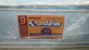 Colchón Matrimonial Ondaflex Doble Pillow