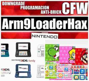Programación Nintendo 3ds Aarm9 Loaderhax (chip Virtual)