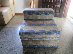 Sofa Cama Modular Individual De Tela Usado