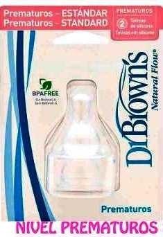 Tetinas/chupas Dr. Browns (boca Delgada Y Boca Ancha)