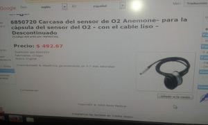 Carcasa Del Sensor De O2 Anemone Con El Cable Liso