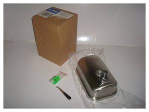 Dispensador De Jabón En Acero Inoxidable 304 Nuevo+kit