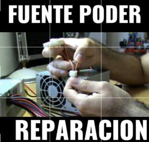 Fuente Poder Reparacion