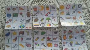 Lotería Para Imprimir (editable) Picoca