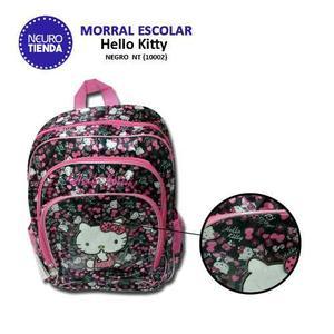 Morral Escolar Grande + Set Escolar   Hello Kitty   #nt