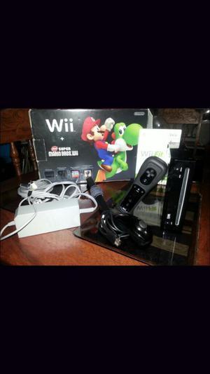 Nintendo Wii Negro Y Tabla Wii Fit