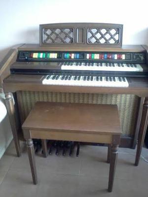Organo Antguo Y Bello Lowrey Genie 40 Solo Para Entendidos