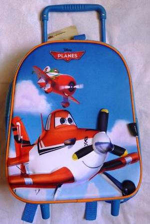 Planes Aviones Morral Maleta 3d Mediana Relieve Escolar Ori