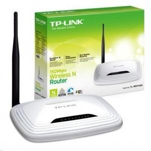 Router Inalambrico Tp-link Tl-wr740 N 150mbps Wifi Wan Lan