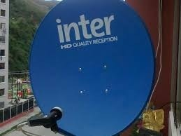 Vendo Antena De Inter Hd Con 30 Mts Aprox De Cable.