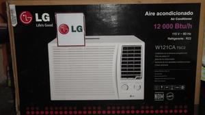 Aire acondicionado LG  btu, 110v, de ventana NUEVO EN