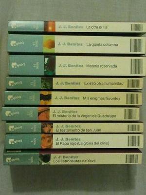 Colección J.j. Benitez. Libros En Fisico.