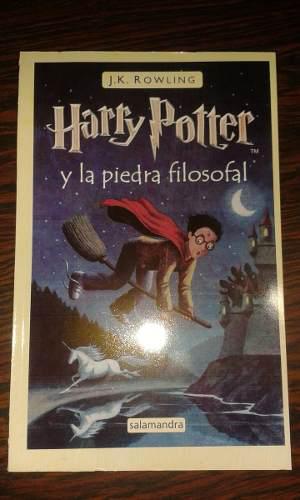 Harry Potter Y La Piedra Filosofal Libro Físico Nuevo Nuevo