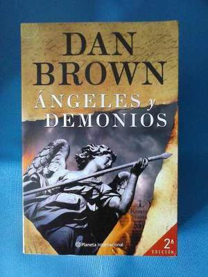 Libro Ángeles Y Demonios, Dan Brown