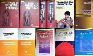 Libros De Medicina Interna Y Pediatría Usados
