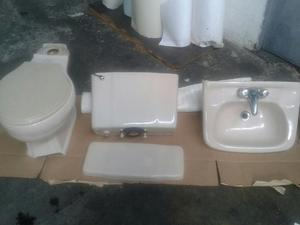 Juego de ba o poceta y lavamanos color blanco posot class - Lavamanos de bano ...
