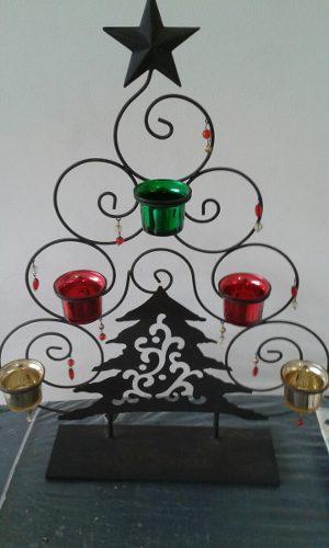 Árbol De Navidad En Hierro Forjado