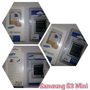 Bateria S3 Mini Y Cable Usb Original Samsung Nuevos