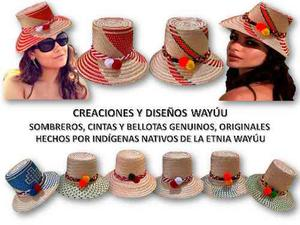 Bellísimos Sombreros Wayúu 100% Original