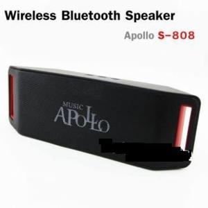Corneta Bluetooth Portatil Apollo Usb, Micro Sd Garantizada
