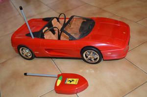 Ferrari De La Barbie Con Control Remoto
