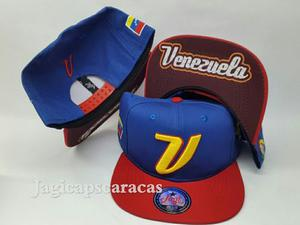 Gorras Planas V.tinto Clasico Mundial Beisbol Venezuela