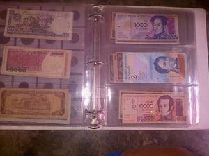 Gran Coleccion De Monedas Y Billetes Antiguos