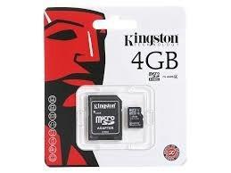 Memoria Micro Sd Kingston 4gb