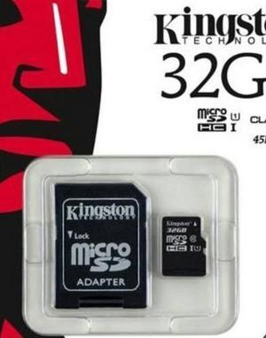 Memorias Micro Sd 32gb Kingston