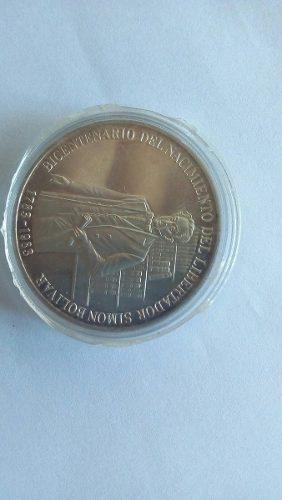 Moneda Bicentenario Nacimiento Simón Bolívar