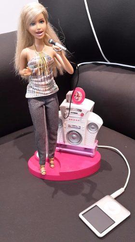 Muñeca Barbie Cantante Mp3 Mattel En Oferta.... Usada !!!