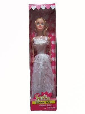Muñeca Sofia De Muy Buena Calidad 17cm