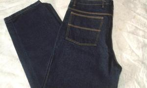 Pantalón Blue Jeans Tres Costuras de Trabajo