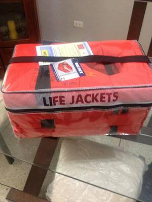 Paquete De Chalecos Salva Vidas