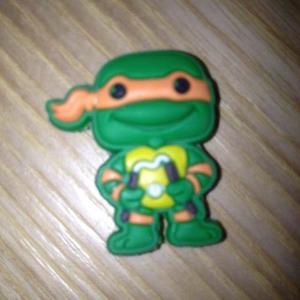 Pines Para Tus Sandalias Crocs Y Coqui - Tortuga Ninja - 008