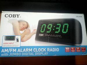 Radio Reloj Despertador Coby Cr-a108