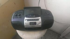 Reproductor Portatil Aiwa Cd, Radio, Am/fm, Y Cassette