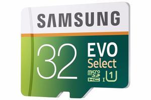 Samsung Evo Memoria Micro Sd Hc 32gb 80 Mb/s