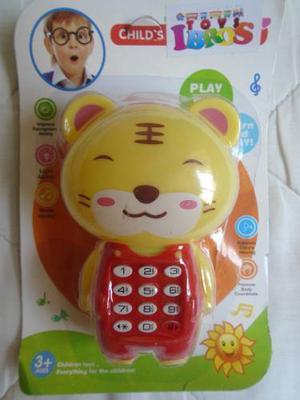 Telefono De Juguete Para Bebés Niños