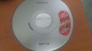 Discman Sony Radio Fm/am Lee Mp3 Como Nuevo Con Su Cargador