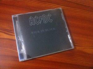 Disco Black In Black De La Banda Ac/dc.