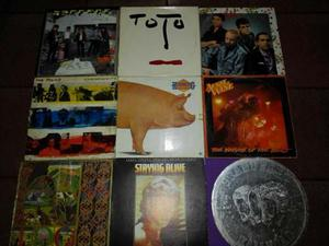 Disco De Acetato De Rock And Roll Eric Clapton,foreigner Etc