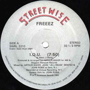 Disco Lp Acetato Remix Importado 80s Freeez I.o.u