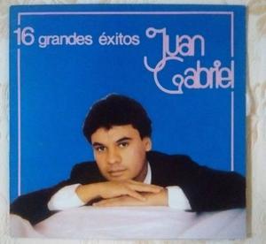 Discos Lp Acetato Vinil Juan Gabriel