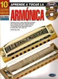 Lecciones De Armónica En Formato Digital, Más Cancionero