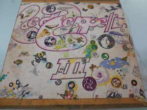 Lp / Led Zepelin / Iii / Nacional / Vinyl / Acetato /