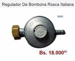 Regulador De Bombona Rosca Italiana