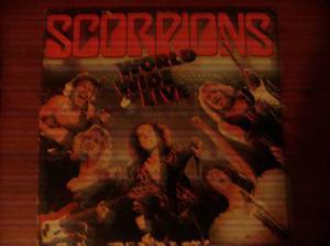 Scorpions. Lp. World Wide Live. Disco De Vinil